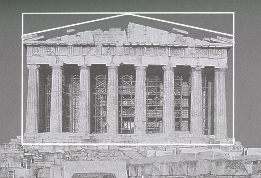 Golden Rectangle In Architecture parthenon_goldenrect